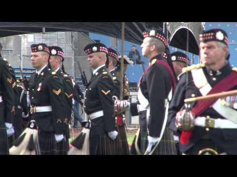 Canadian Scottish Regiment 100th Anniversay Celebrations 2012