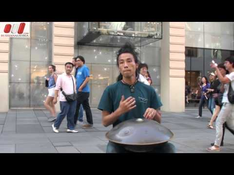 ★ Reo Matsumoto (Japan). Handpan. Vienna Street Performers by RussianAustria (Full HD)