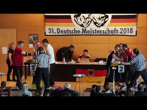 Deutsche Meisterschaft 2018 //   Männer -100kg Links // Männer -90kg Links Teil 2