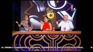Katia Palma arrancó más de una carcajada con su imitación de mexicana