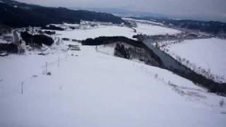 薬師山スキー場 山頂ロープトゥ