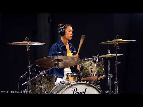 Wright Drum School - Lara Byfield - Stuck in the Sound - Let's Go - Drum Cover