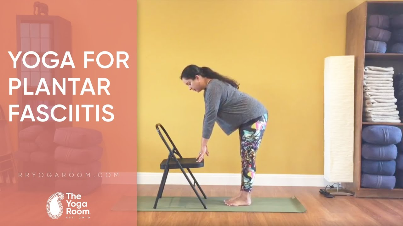 Yoga For Plantar Fasciitis Level 1 Youtube