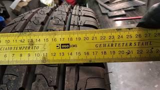 Как нас обманывают производители шин. А ваши шины соответствует заявленному?