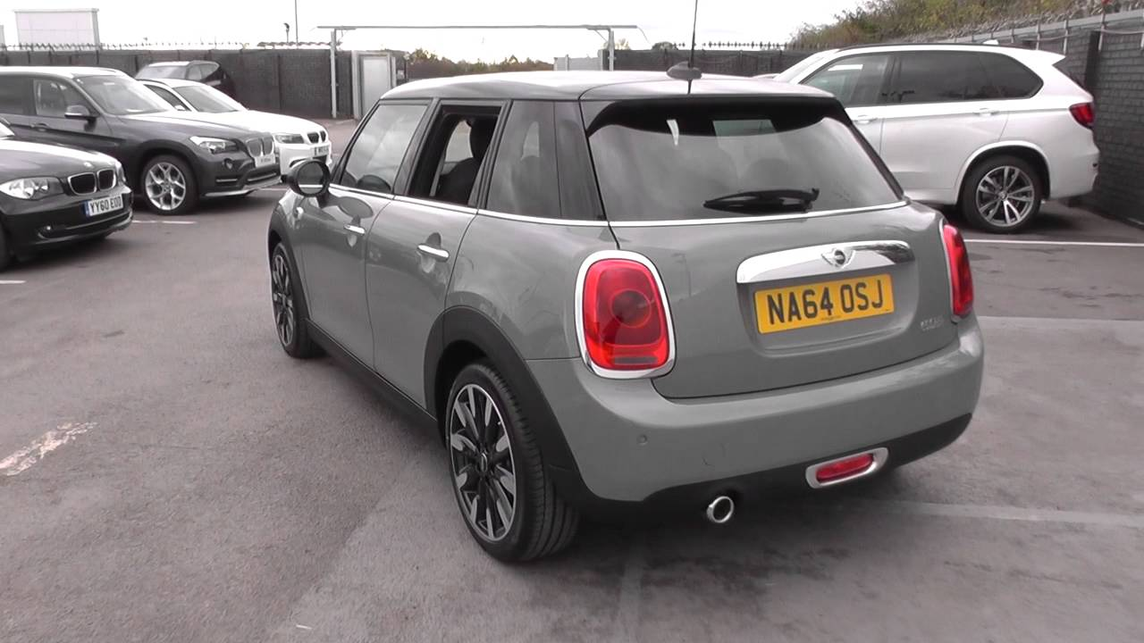 MINI MINI 5 Door Hatch (F55) Cooper 5 Door Hatch 1.5 (XS52) U5358   YouTube