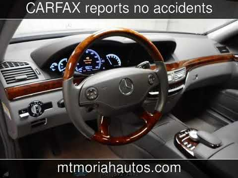 2009 Mercedes-Benz S550 5.5L V8 Used Cars - Memphis,Tennessee - 2018-04-25