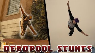 Stunts From Deadpool 2 In Real Life