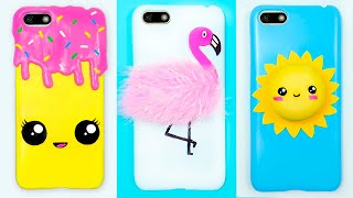 3 DIY PHONE CASES #1 Easy Phone Projects