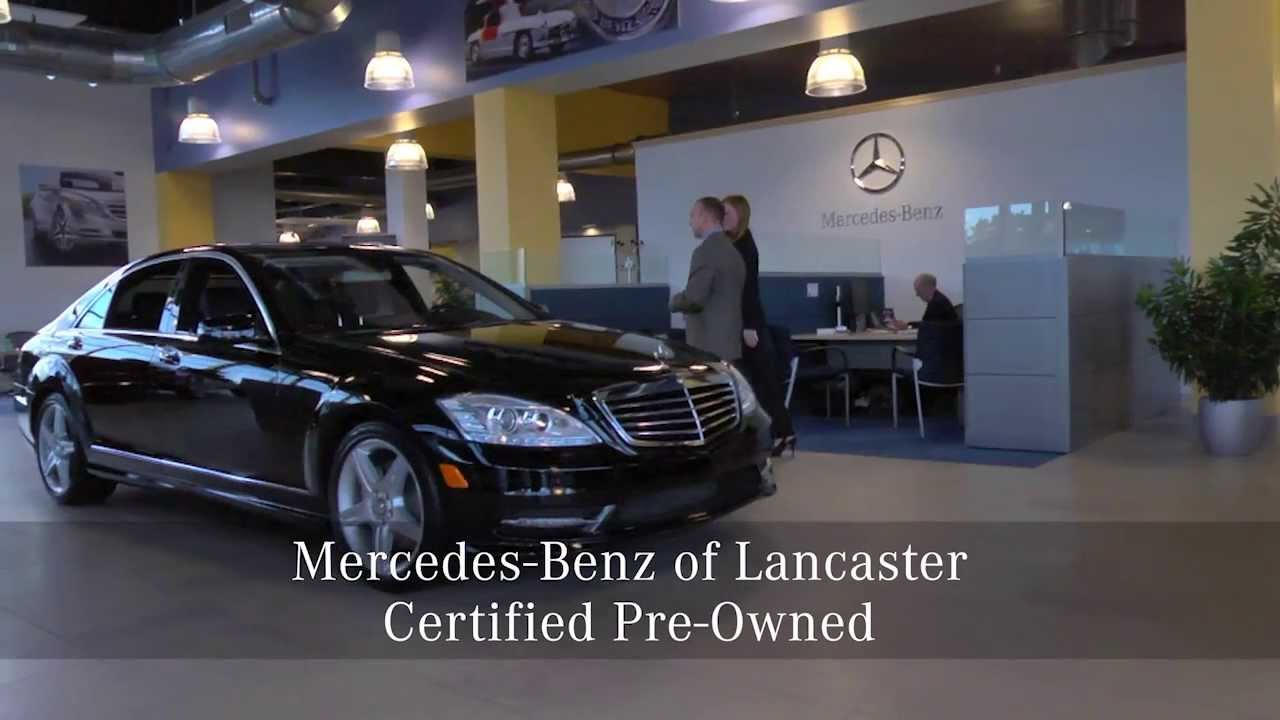 Mercedes-Benz of Lancaster Certified Pre-Owned - YouTube