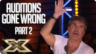 When Auditions Went Wrong in 2018 - Part 2 | The X Factor UK 2018