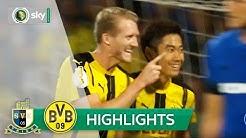 Eintracht Trier - Borussia Dortmund 0:3 | Highlights DFB-Pokal 2016/17 - 1. Runde
