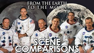 From the Earth to the Moon (1998) - scene comparisons