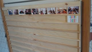 Picture Frame Board Making(사진 …
