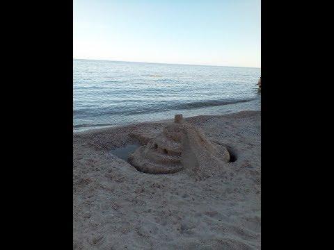 п.г.т Седово обзор пляжей ДНР