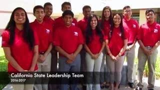 2016 2017 california fbla state leadership team