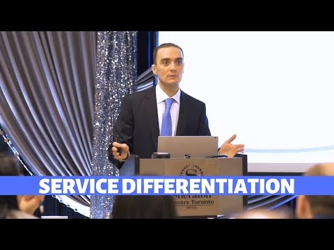 SERVICE DRIVES DIFFERENTIATION