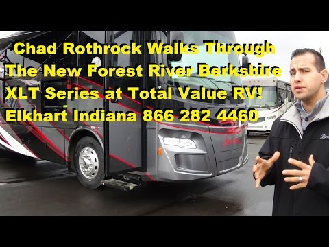 2016 Forest River Berkshire XLT series Diesel RV Walk Thru at Total Value RV