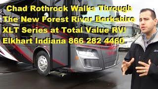 2016 Forest River Berkshire XLT series Diesel RV Walk Thru at Total Value RV