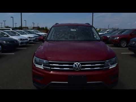 New 2019 Volkswagen Tiguan Capitol Heights, MD #VKM122822