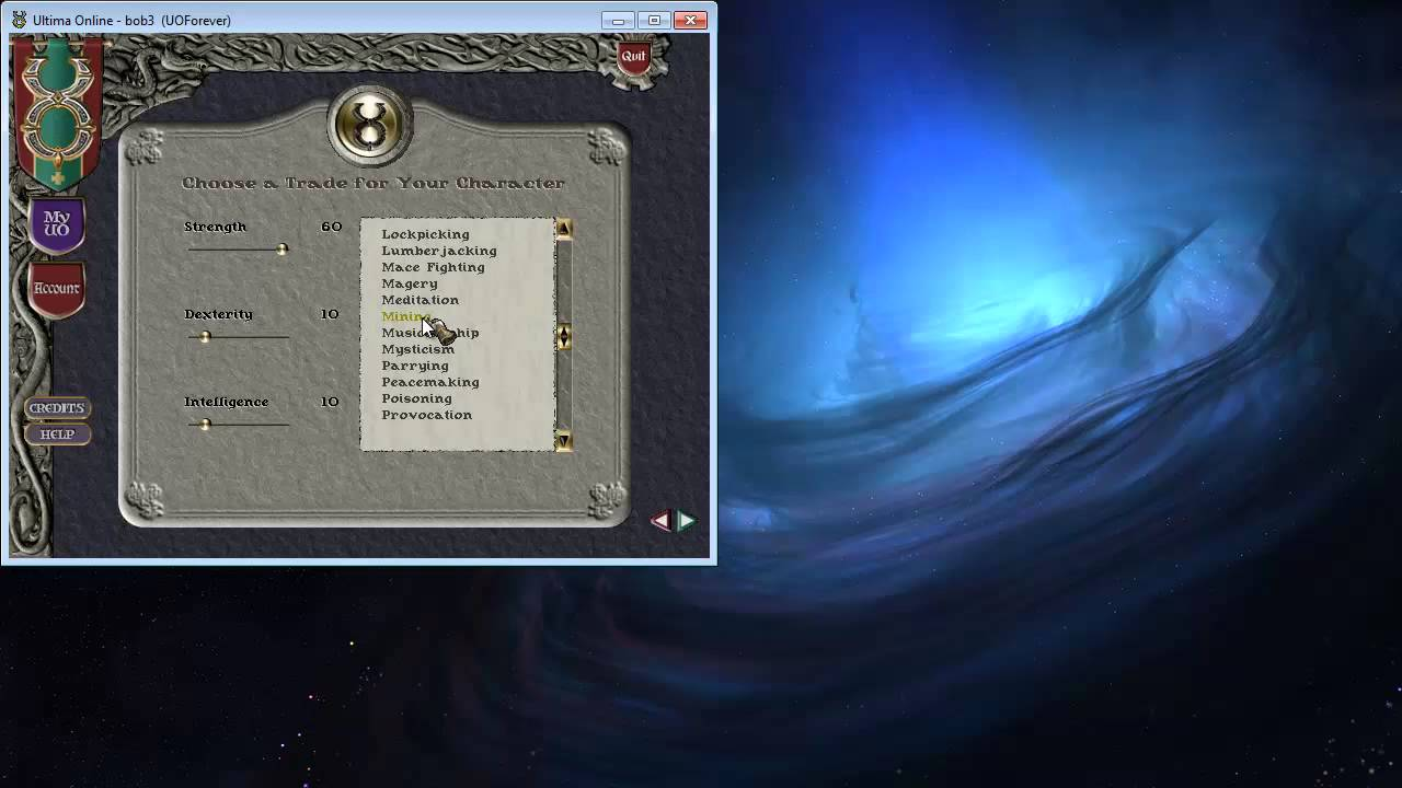 uo forever new player tutorial part 1 youtube