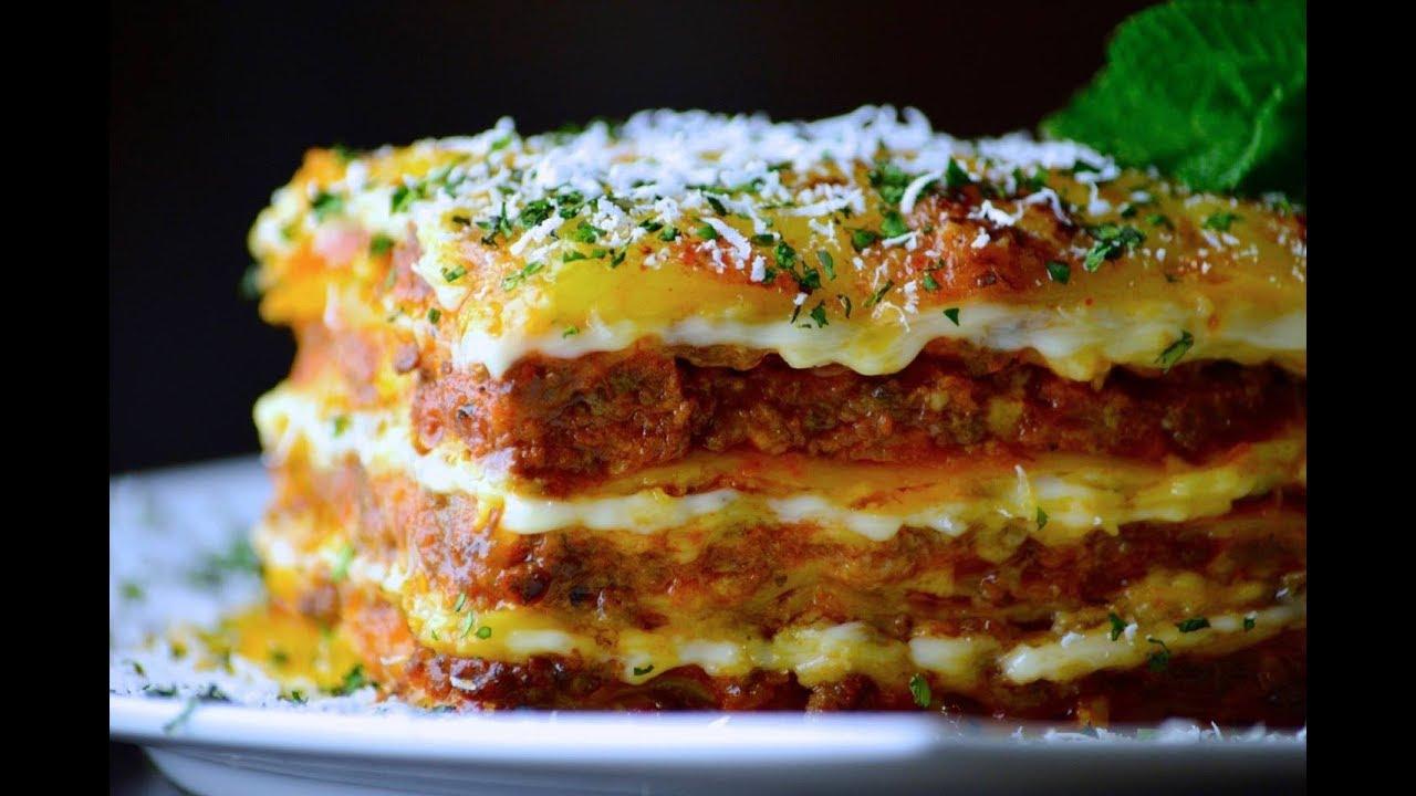 lasagna - YouTube
