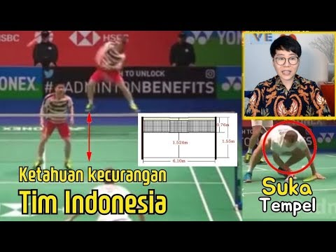 Image of TEMBAK VS SUSU (Marcus GIDEON/Kevin SANJAYA JUARA All England 2018 SEMI FINAL)