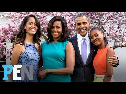 Barack & Michelle Obama On Raising Their Kids & Harvard-Bound Malia Obama | PEN | People