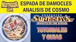 🔱COSMO ESPADA DE DAMOCLES🔱 (no tan) Pequeña review y uso - SAINT SEIYA AWAKENING GUIAS