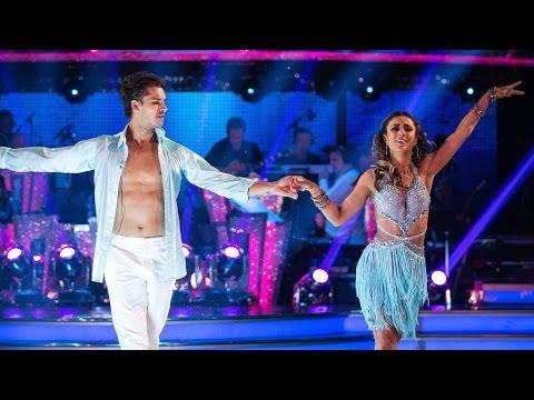anita-rani-&-gleb-savchenko-samba-to-'hips-don't-lie'---strictly-come-dancing:-2015