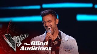Stefan Mahendra's 'Redbone' | Blind Auditions | The Voice UK 2019