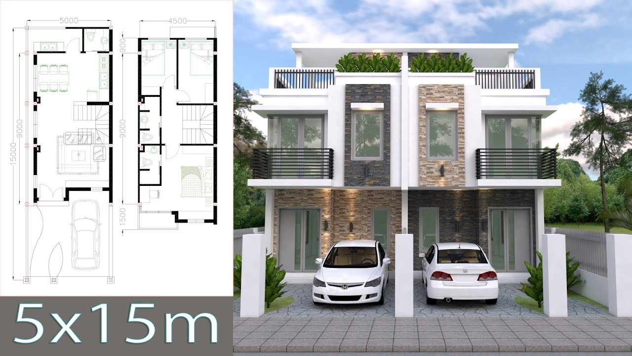 maxresdefault - View Modern 3 Bedroom House Plans And Designs Images