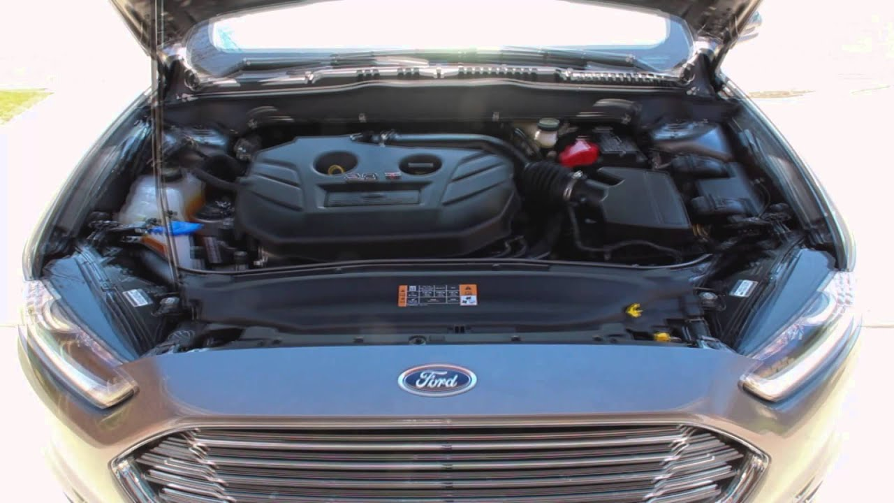 2014 Ford Fusion 2 0l Turbocharger Bypass Valve Sounds