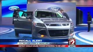 Ford issues four recalls affecting 1.4M vehicles