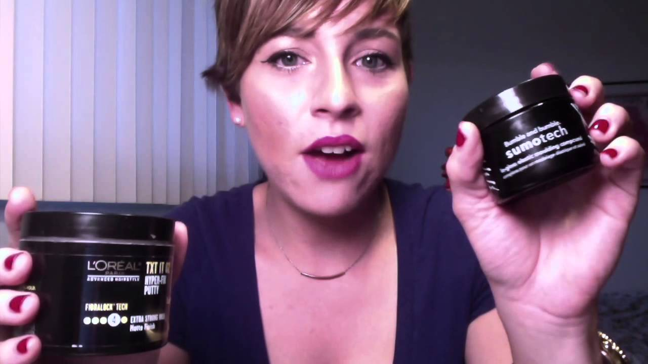 Hair products I use for my Pixie short Haircut  YouTube