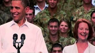 President Obama Speaks to U.S. and Australian Service Members