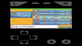 gba emulador para android  apk+BIOS+ROMS de pokemon