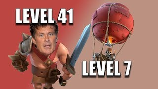 Upgrading King to Level 41 and Loons to 7 - Town Hall 11 - Clash of Clans