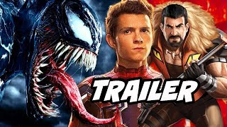 Venom Trailer 3 and Spider-Man Kraven Movie News Explained