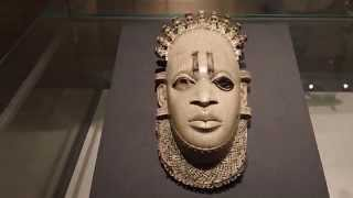 Ivory mask 16th century Benin British Museum London
