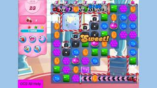 Candy Crush Saga Level 3610 NO BOOSTERS Cookie