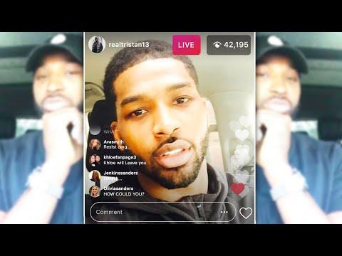 Tristan Thompson Apology Video to Khloé - \