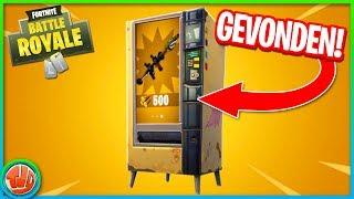 VENDING MACHINE GEVONDEN + LOCATIES!! - Fortnite: Battle Royale