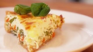 How to Make Primavera Quiche
