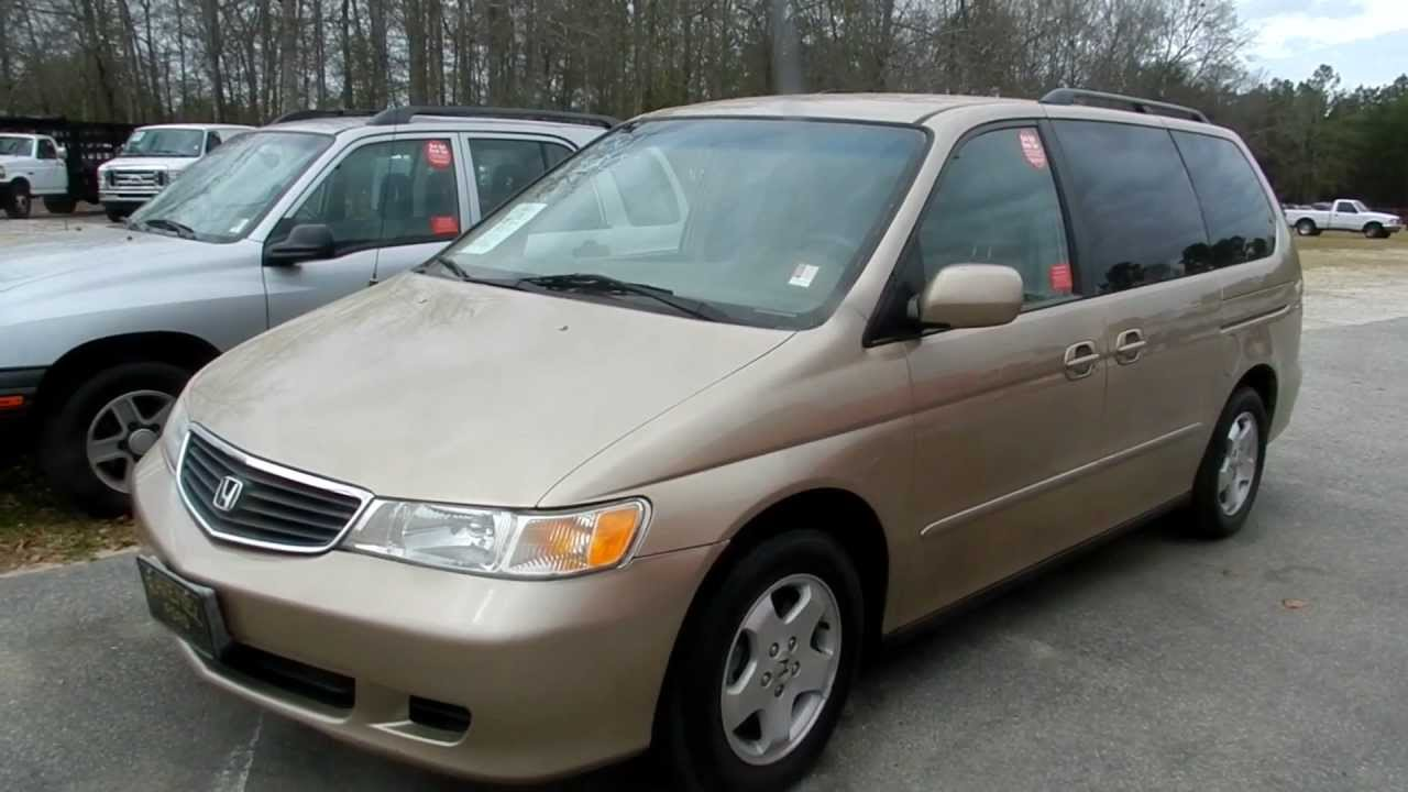 2001 Honda Odyssey Ex Review Charleston Van Videos For Ravenel Ford You