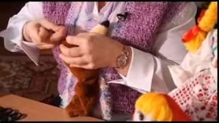 «Ручная работа». Перчаточная кукла-мишка (12.02.2014)