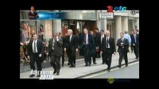 Bill Clinton takes care of Salman Khan's security