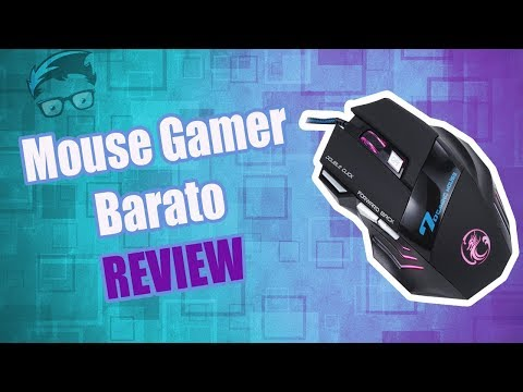 Unboxing +Review Mouse Gamer - Estone x7