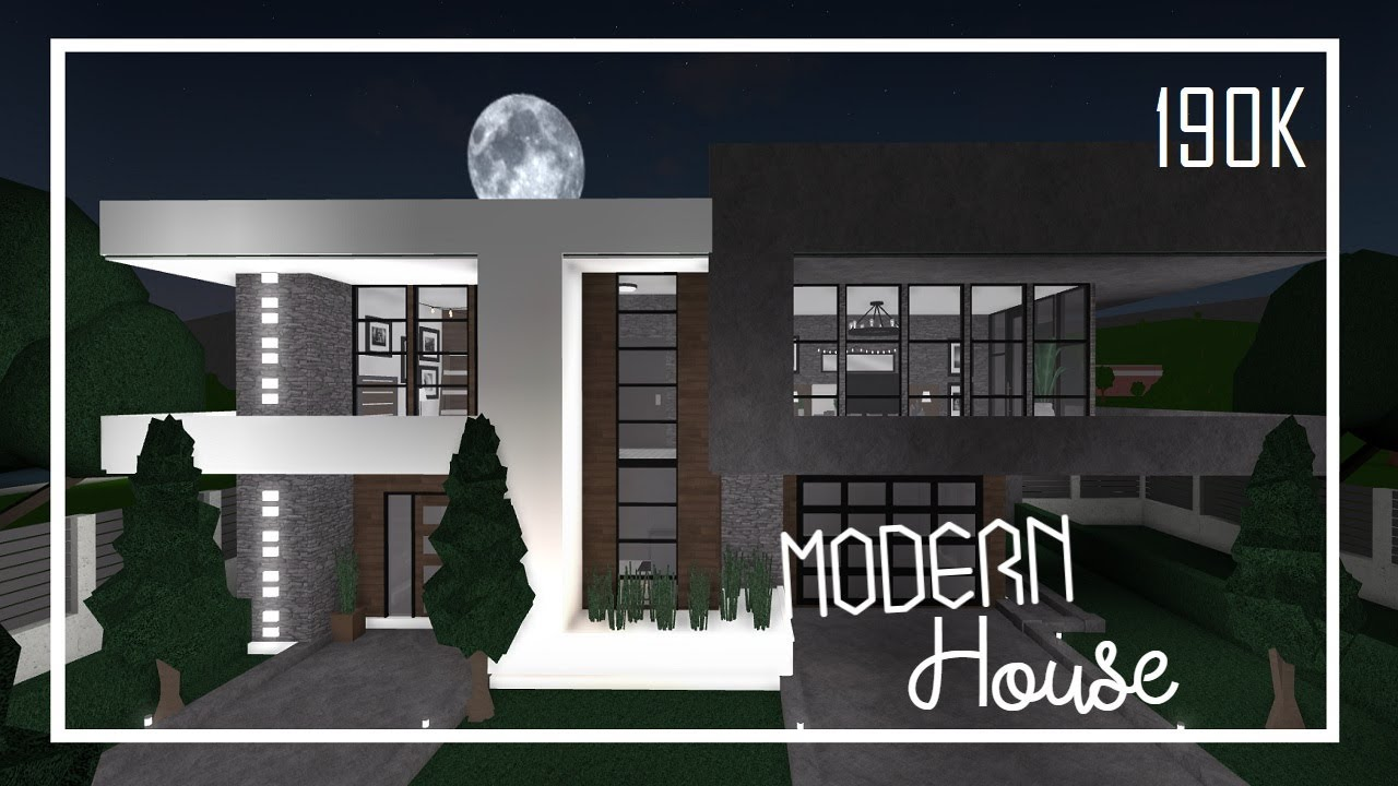 Roblox Speed Build Small Modern House