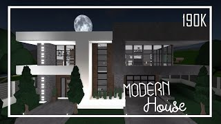 ROBLOX: Bloxburg - France Mini Mansion Moderne - Speed Build. 190000 000