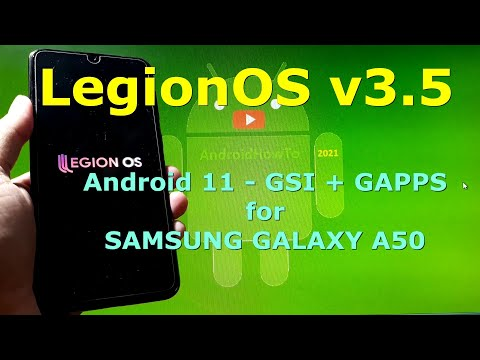 LegionOS v3.5 Android 11 for Samsung Galaxy A50 - Custom ROM